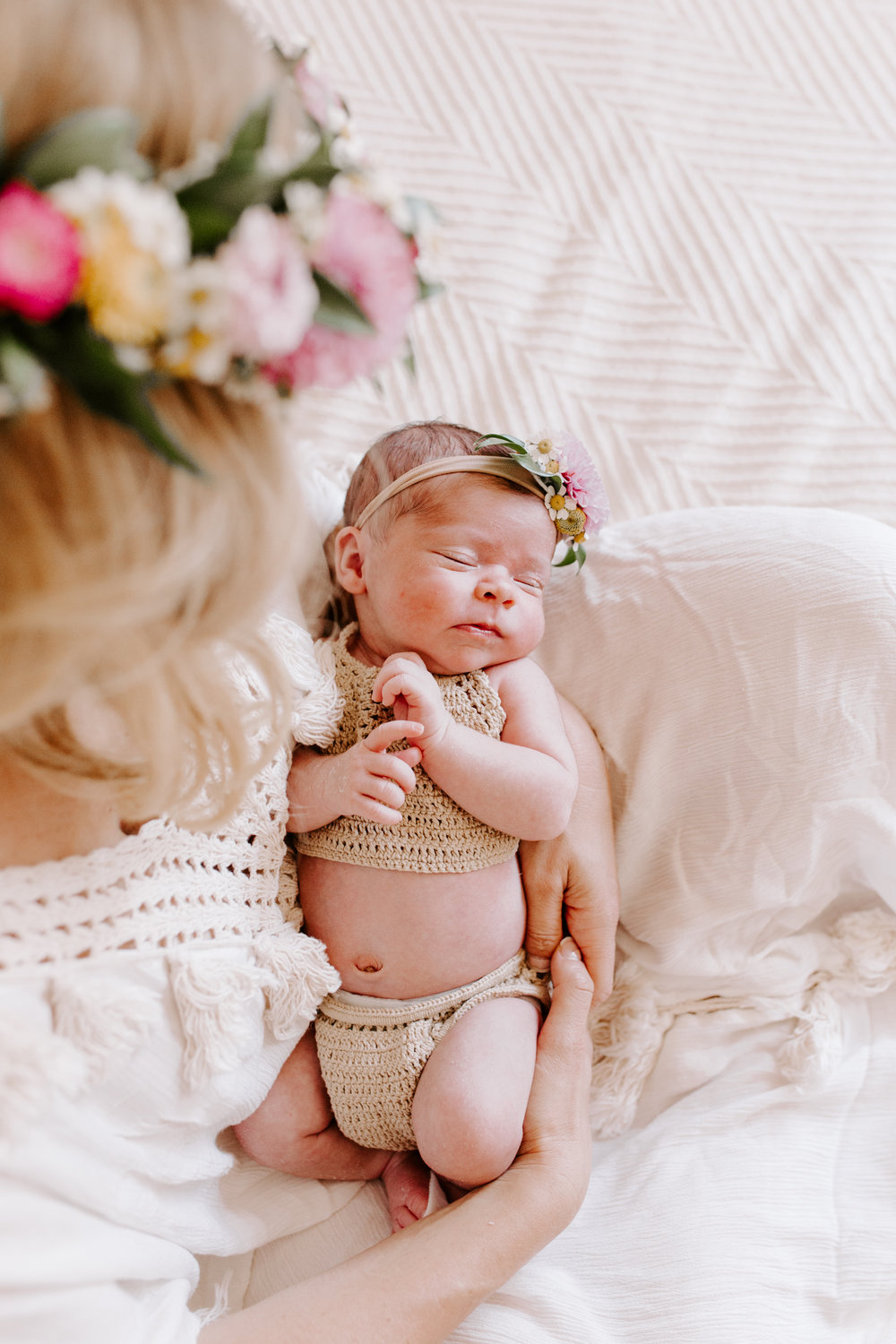 Santa Cruz newborn photographer