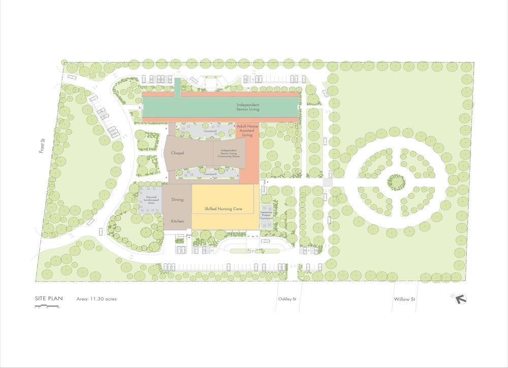 Uniondale Site Plan