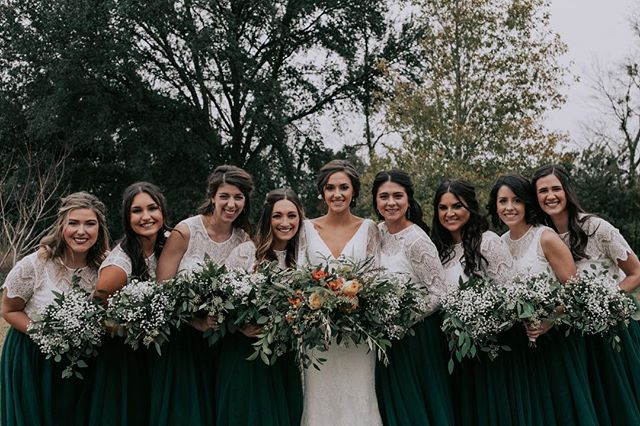 squad goals 👊🏼 also so obsessed with all the green 😍it's like they knew it was my favorite color💐💚 - - - #austinweddingphotographer #austintexasweddings #elopmentphotographer #livelifebeautifully #creativelifehappylife #momentsovermountains #chasinglight #huffpostido #indiebride #outdoorweddingphotographers #greenweddingshoes #loveauthentic #postthepeople #weddinginspiration #coloradoweddingphotographer #coloradofilmphotographer #coloradoelopement #liveauthentic #thecreative #artofvisuals #bridesofaustin #travelingweddingphotographer #authenticweddingphotographer