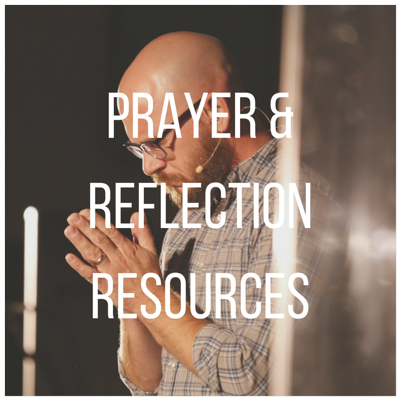 Spend some time with our prayer and reflection resources including a worship music playlist and weekly prayer podcast!