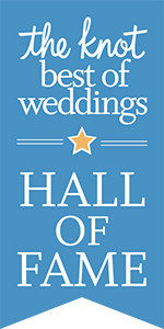 THE KNOT HALL OF FAME OF BEST OF THE BEST IN WEDDING INDUSTRY