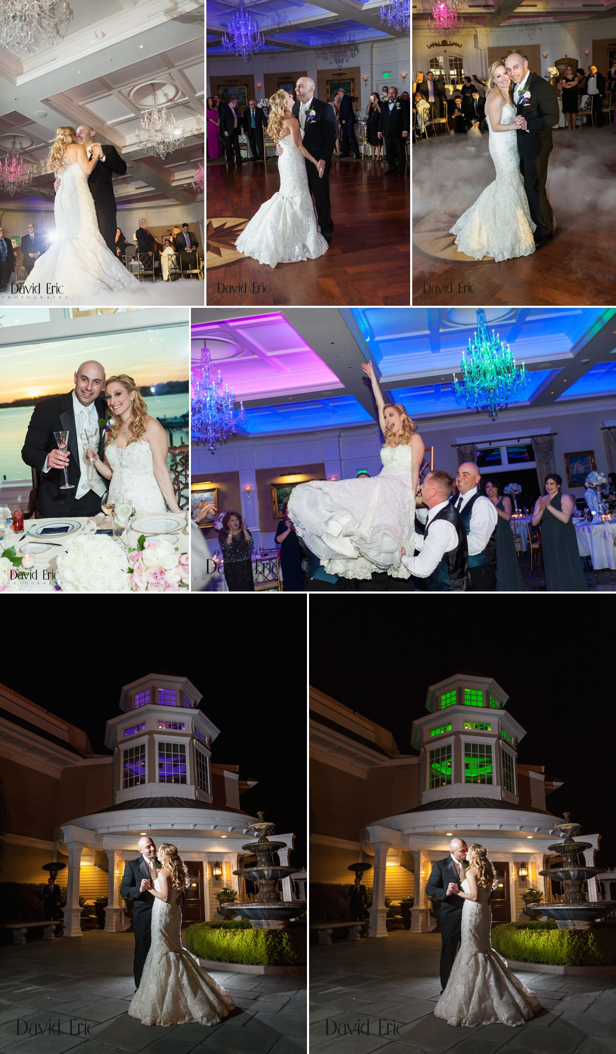 Clarks Landing Yacht Club Point Pleasant New Jersey Pelta Wedding - David Eric Photography 3