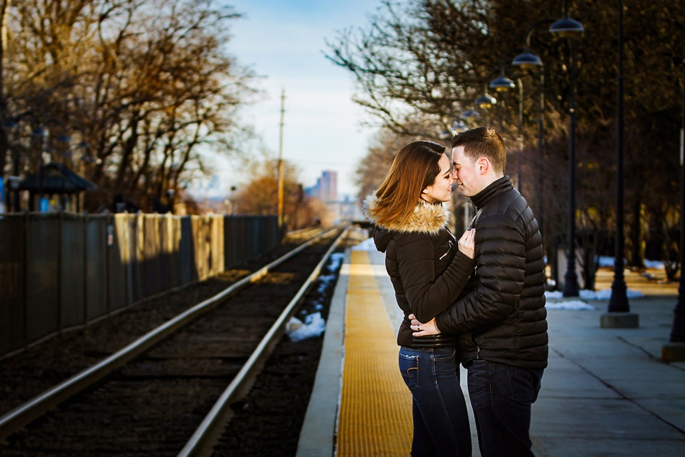 Urban engagement session at the train station in Rutherford NJ