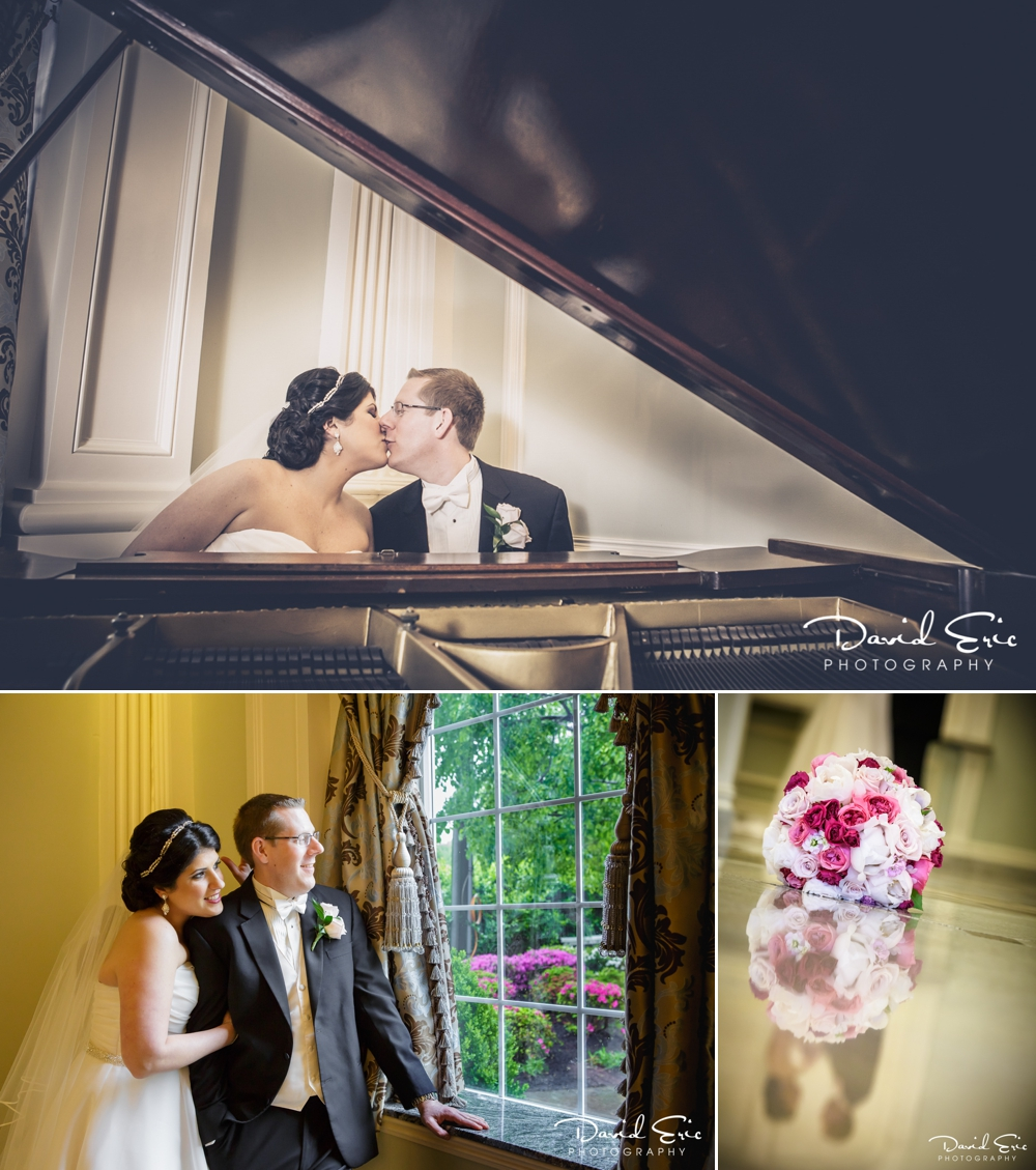 Bride and Groom Portraits at the Rockleigh Country Club Rockleigh New Jersey