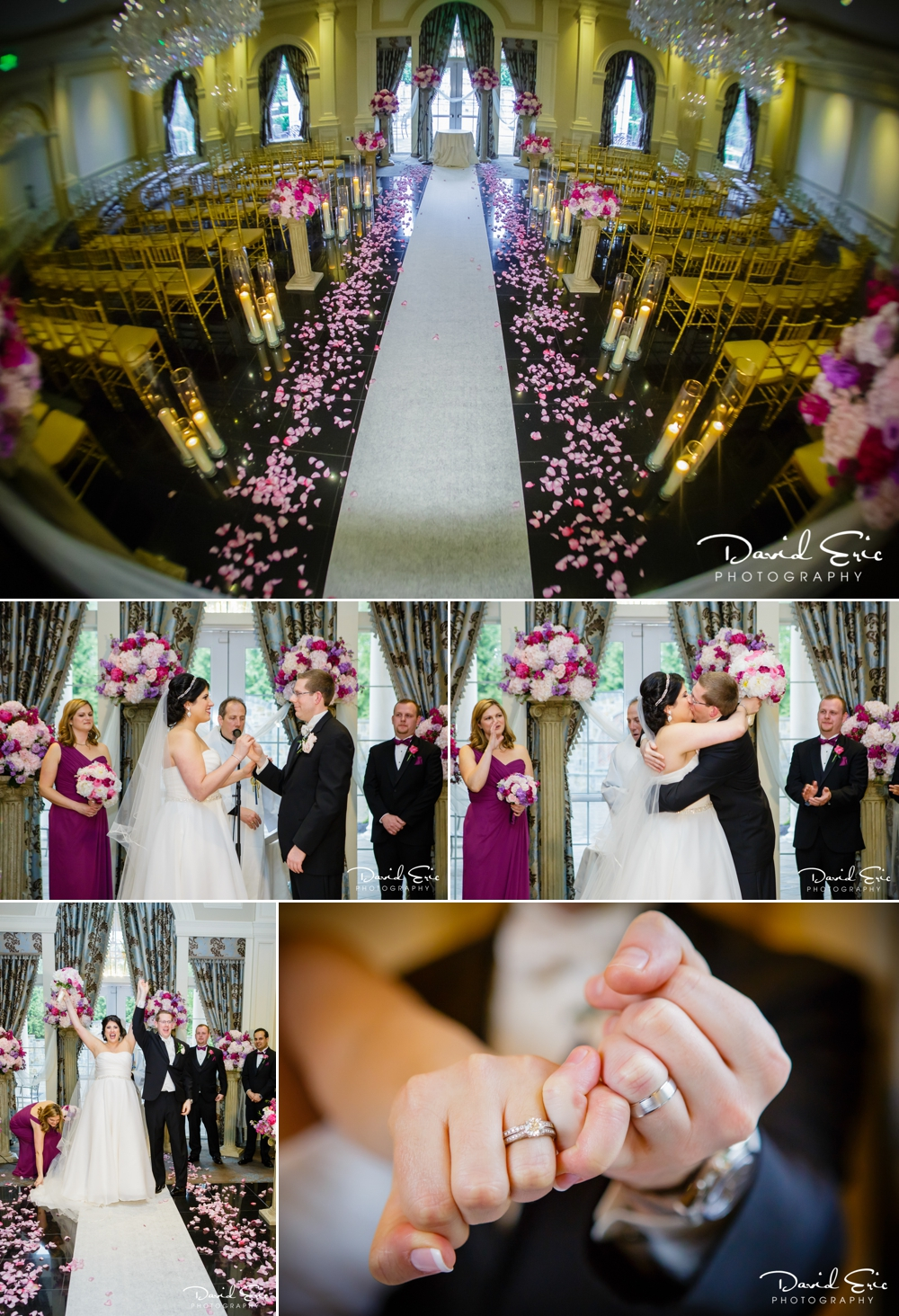Wedding Ceremony at the Rockleigh Country Club Rockleigh New Jersey