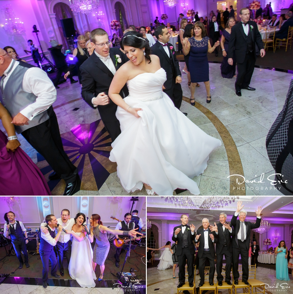 Wedding reception at the Rockleigh Country Club Rockleigh New Jersey