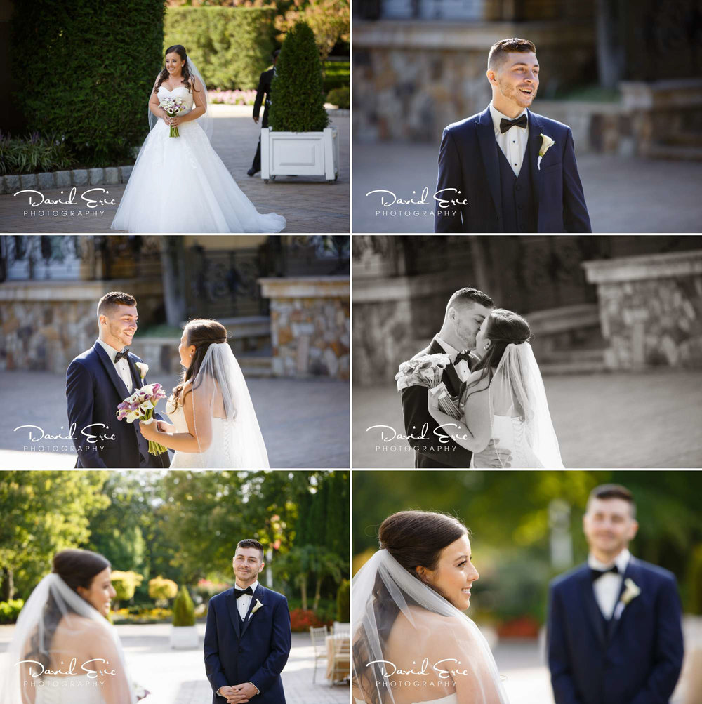 First looks are a great way for the couple to see each other for the first time and be able to share their feeling of the wedding day