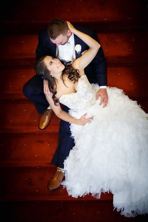 Wedding-couple-stairs-the-palace-somerset.jpg