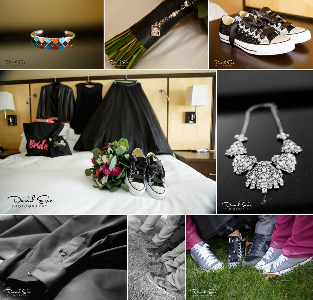 The details are so important for each wedding. Everything from the shoes, the jewelry, the dress.