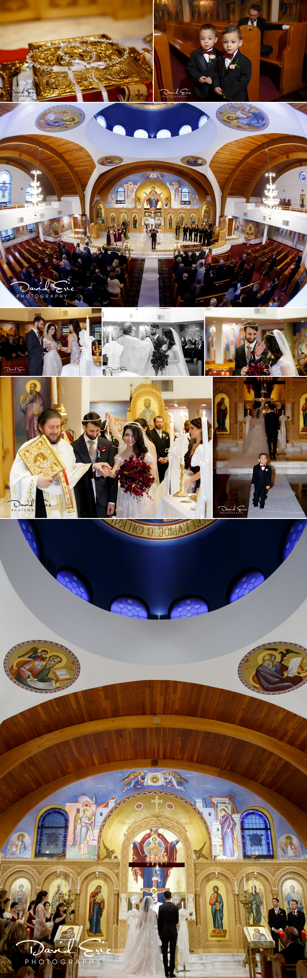 Incredible ceremony at St. Athanasios Greek Orthodox Church in Paramus, NJ.