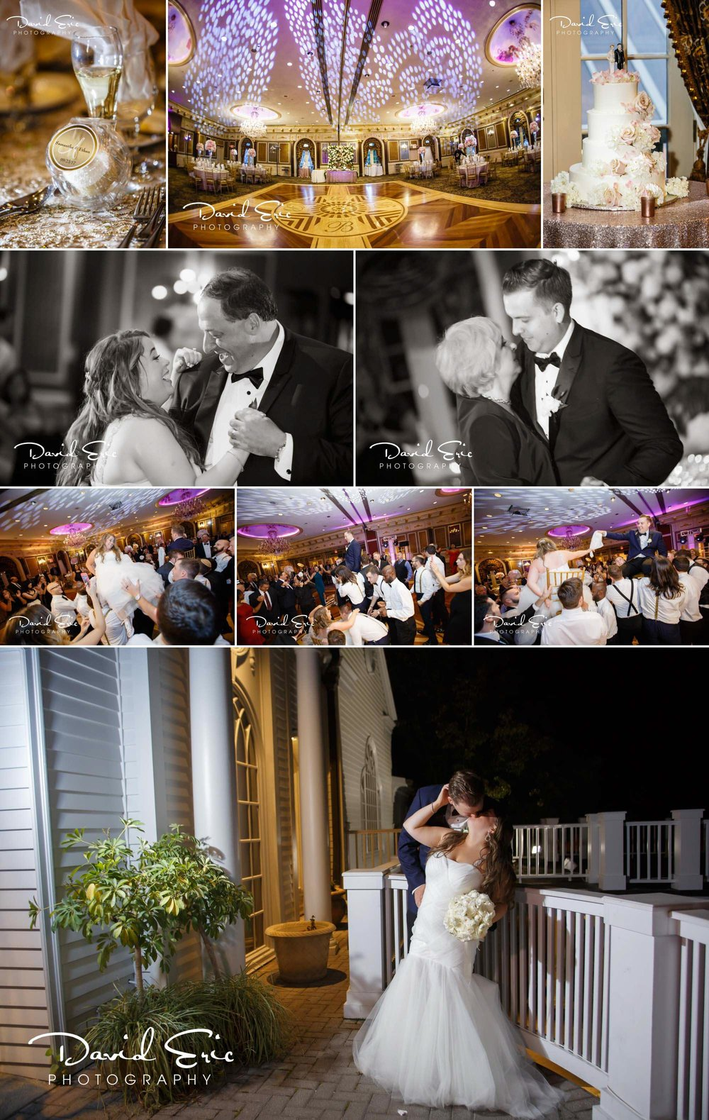 Wedding reception at the Brownstone Paterson new jersey