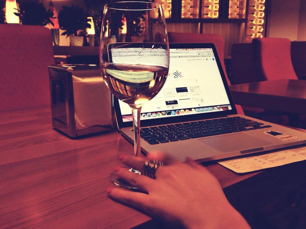 Het antwoord op al je vragen. Google, niet de wijn natuurlijk.