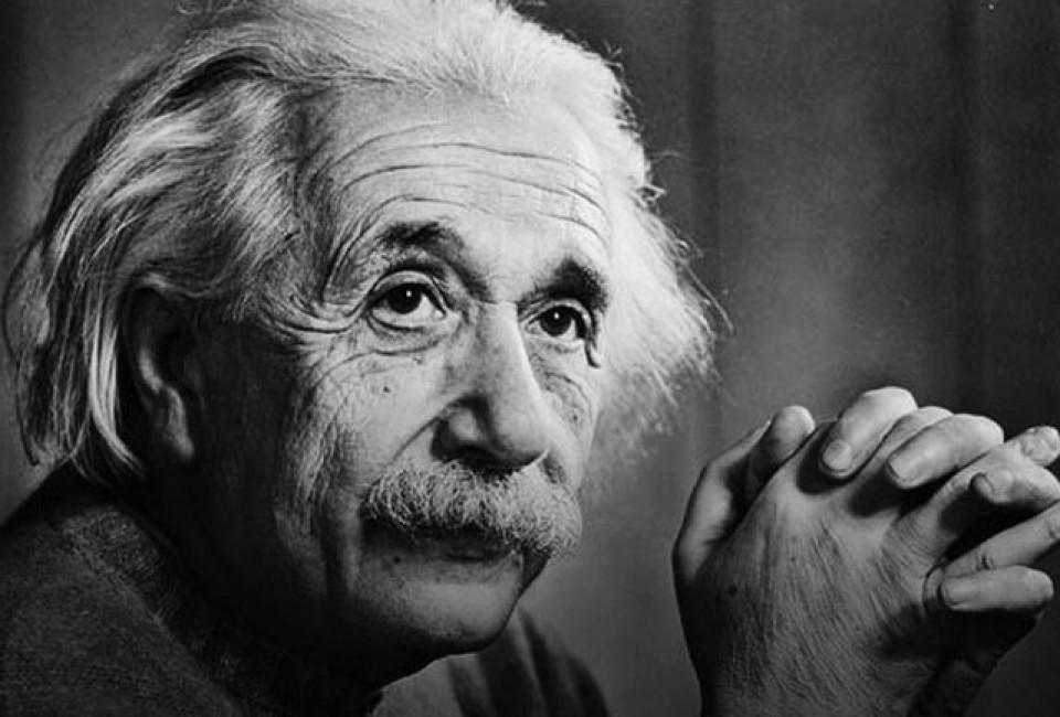 """""""Zolang ik die blogpost over de relativiteitstheorie maar niet moet schrijven...""""  zei Einstein."""
