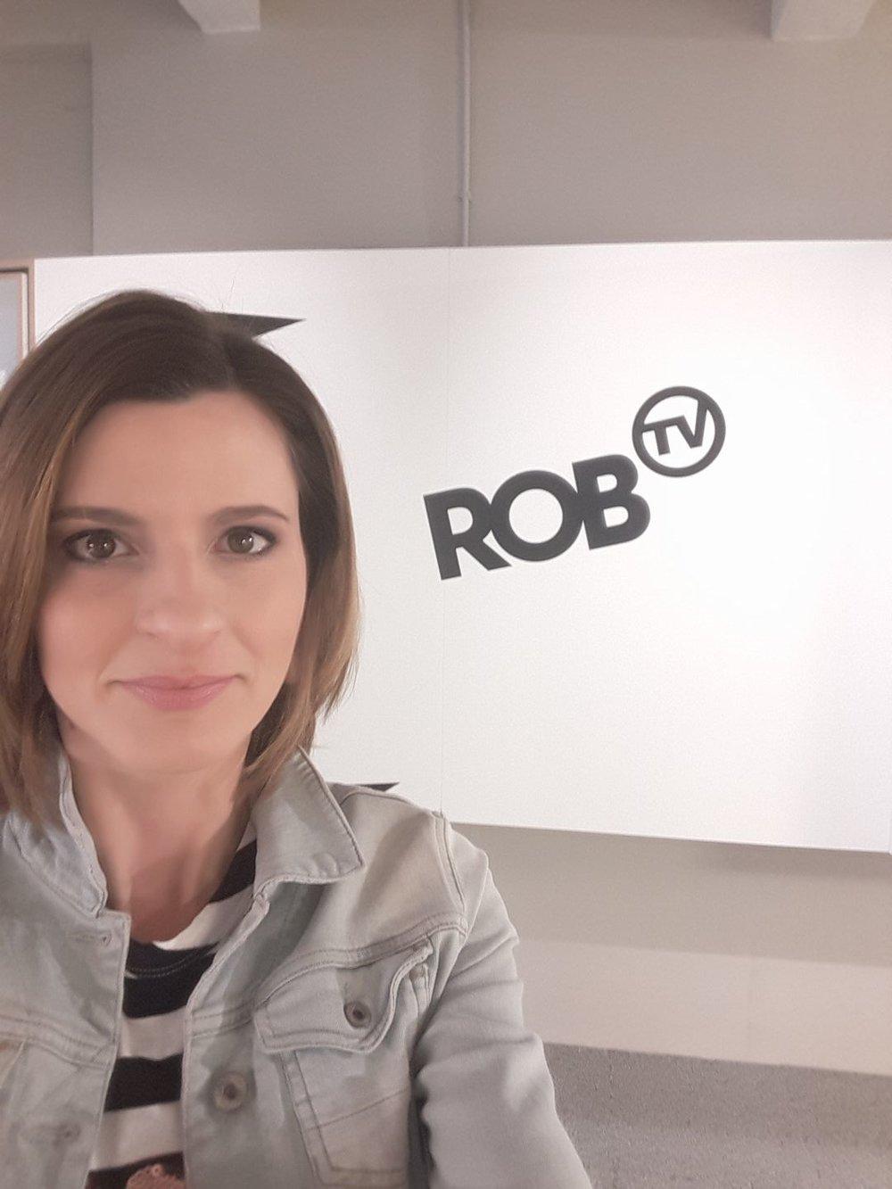 Joke die ROB TV verovert.