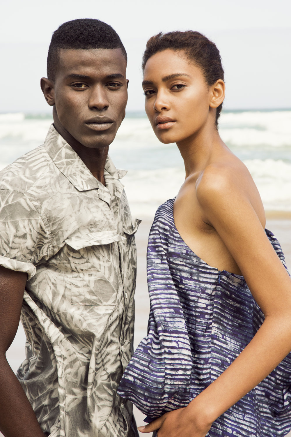 BANANA REPUBLIC: SUMMER 2017   Technique  •  Sun Dye  //    Provenance  •  South Africa  //    Material  •  Silk + Cotton