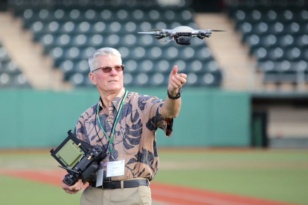 Ted Ralston: UAS Program Director. PC Darrell Leong
