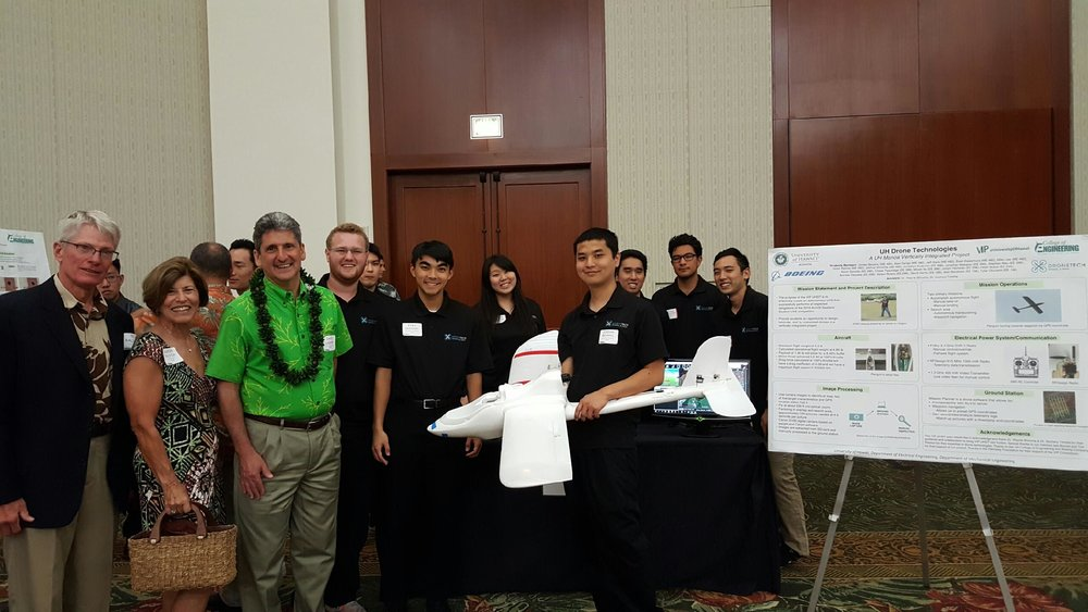 Education - UAS technology allows students of all ages to spread their wings. The University of Hawai'i, Community Colleges, and K-12 schools inspire student creativity with UAS.