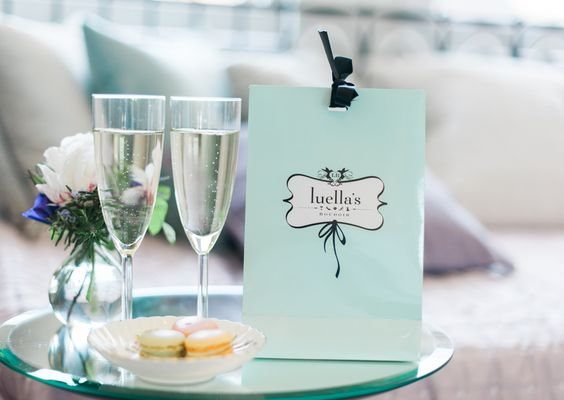 Feeling special at Luella's bridal