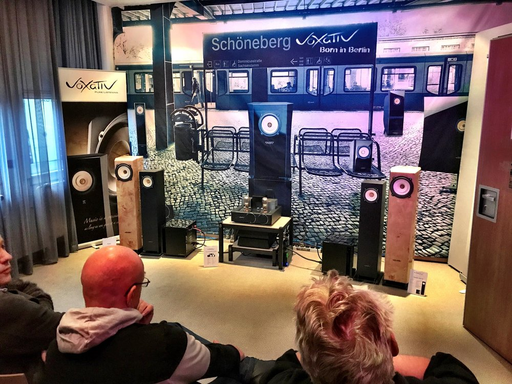 The most accessible Voxativ loudspeaker on the market. - Debuted in Stockholm at the High End Mässan 2019.