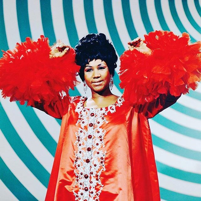 Aretha Franklin b. 1942 Memphis, Tenn. | A legend. An icon. A queen. A voice and energy with a power to change the world, demand respect, and to live on forevermore. Thank you for the joy you gifted humanity through your artistry. #RIPAretha #QueenofSoul #Memphis