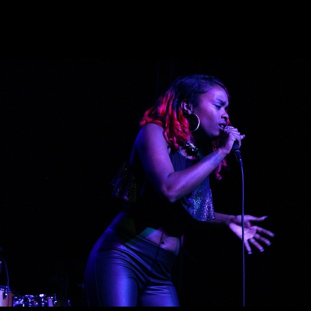 "Emerging Star @lashonteanderson performing her single ""Karma"" at the @newdaisytheatre.  #REDOMemphisMusic #MemphisMusicTown #Choose901 #SupportLocalMusic"