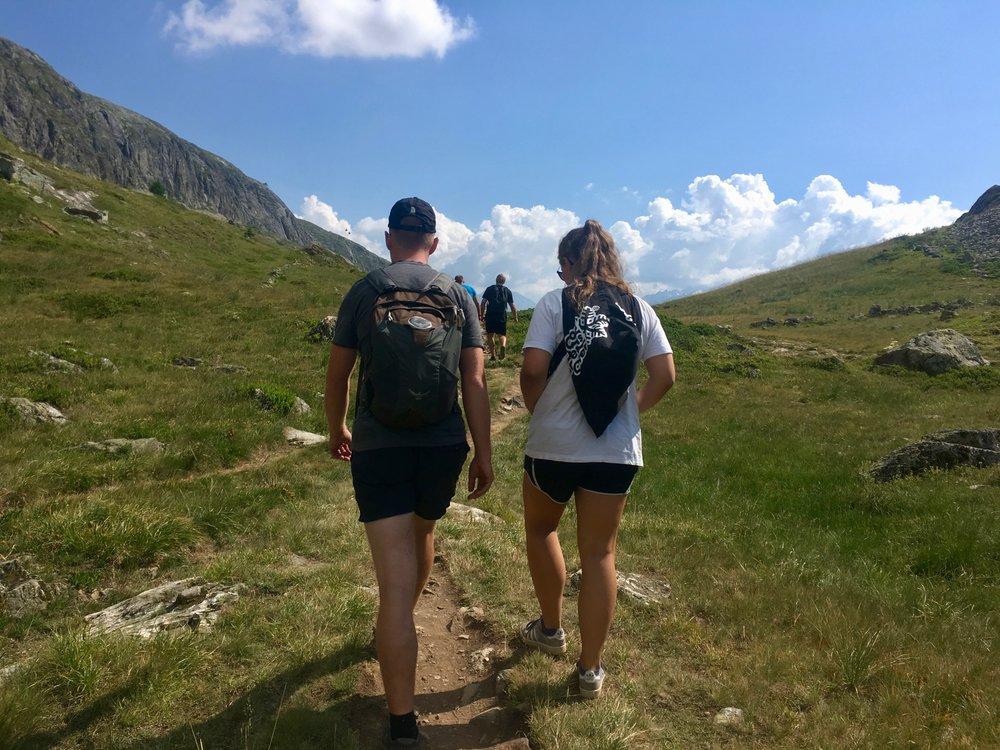 Adventurerace med Adventursport i bjergene |  Sommerhøjskole i Alperne med Alpehøjskolen |