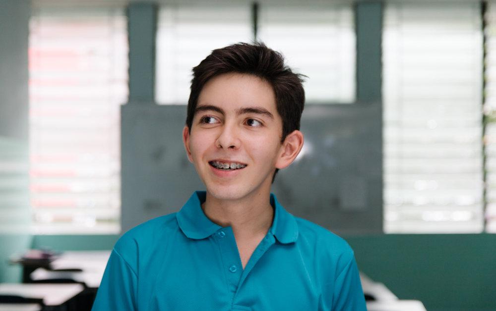 Niño de la Fundación Juan Pablo Segundo, Panamá