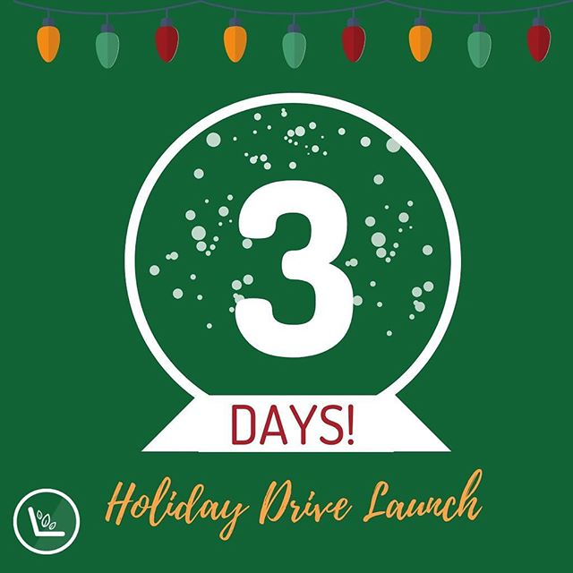 Get your goodies ready!!!! The Sprout holiday drive kicks off in THREE days 🌱🌱🌱