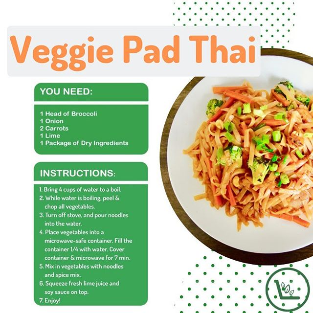 Ever wonder how to make one of our meal kits? Here's the recipe for our Veggie Pad Thai kit! Make it your own by adding your own fav veggies or your fav source of protein. Tag us in your recreations @sproutottawa #foodiefriday #sproutottawa #health