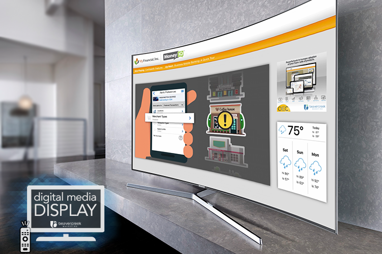 Digital Lobby Display - Included with all OEC Plus, Pro and Money IQ subscriptions.