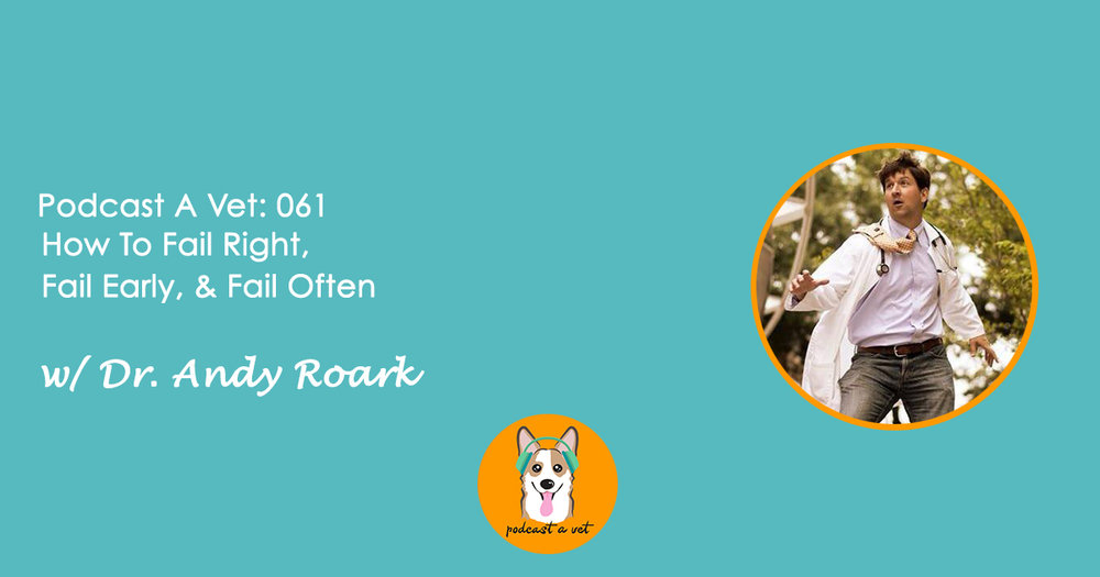 Podcast A Vet 61: Dr. Andy Roark