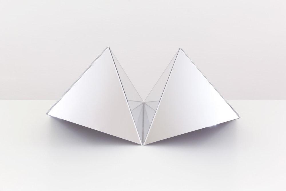 """Caroline Cloutier,  Déploiement 2 , 2016, digital print mounted under plexiglass, 24 x 30"""" (61 x 91 cm)"""