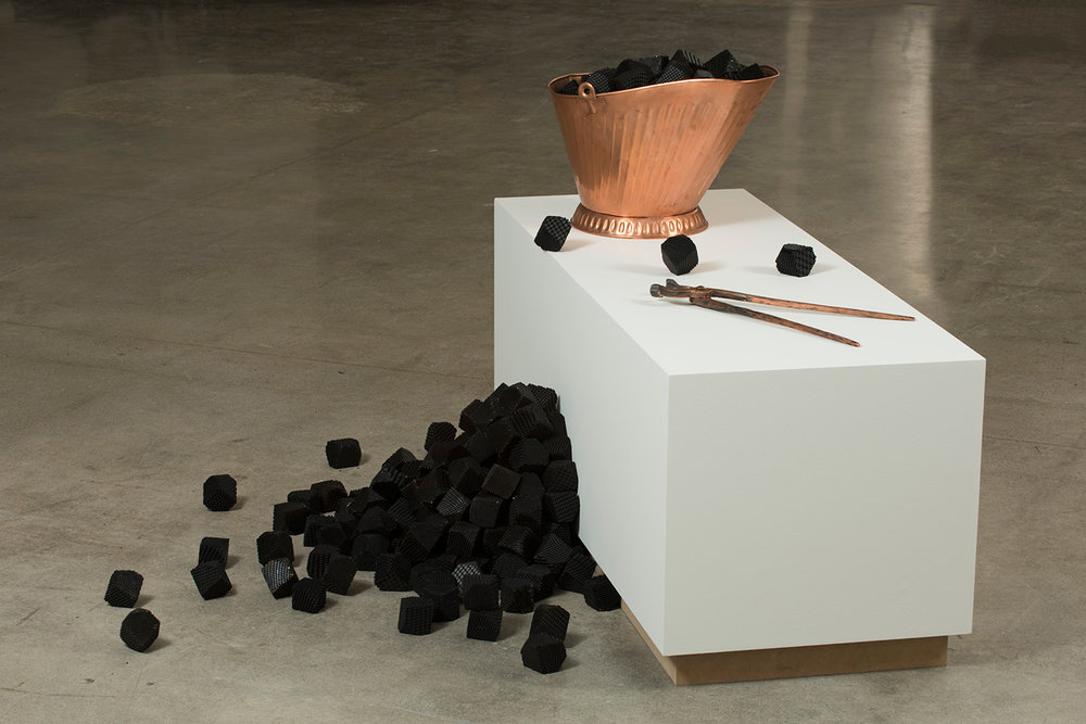 Mitch Mitchell,  I will meet you in the sun,  2016, exhibition view, Art Gallery Of Nova Scotia