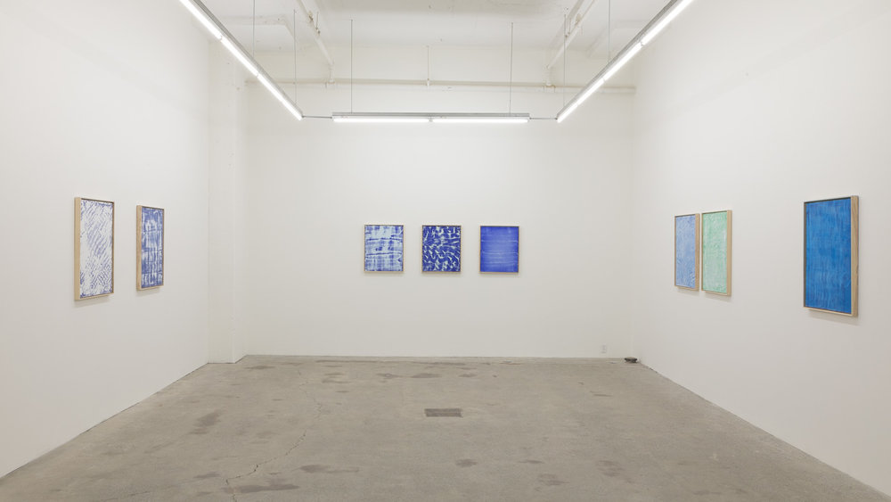 Pierre Julien, Blueprint, 2017, Exhibition view