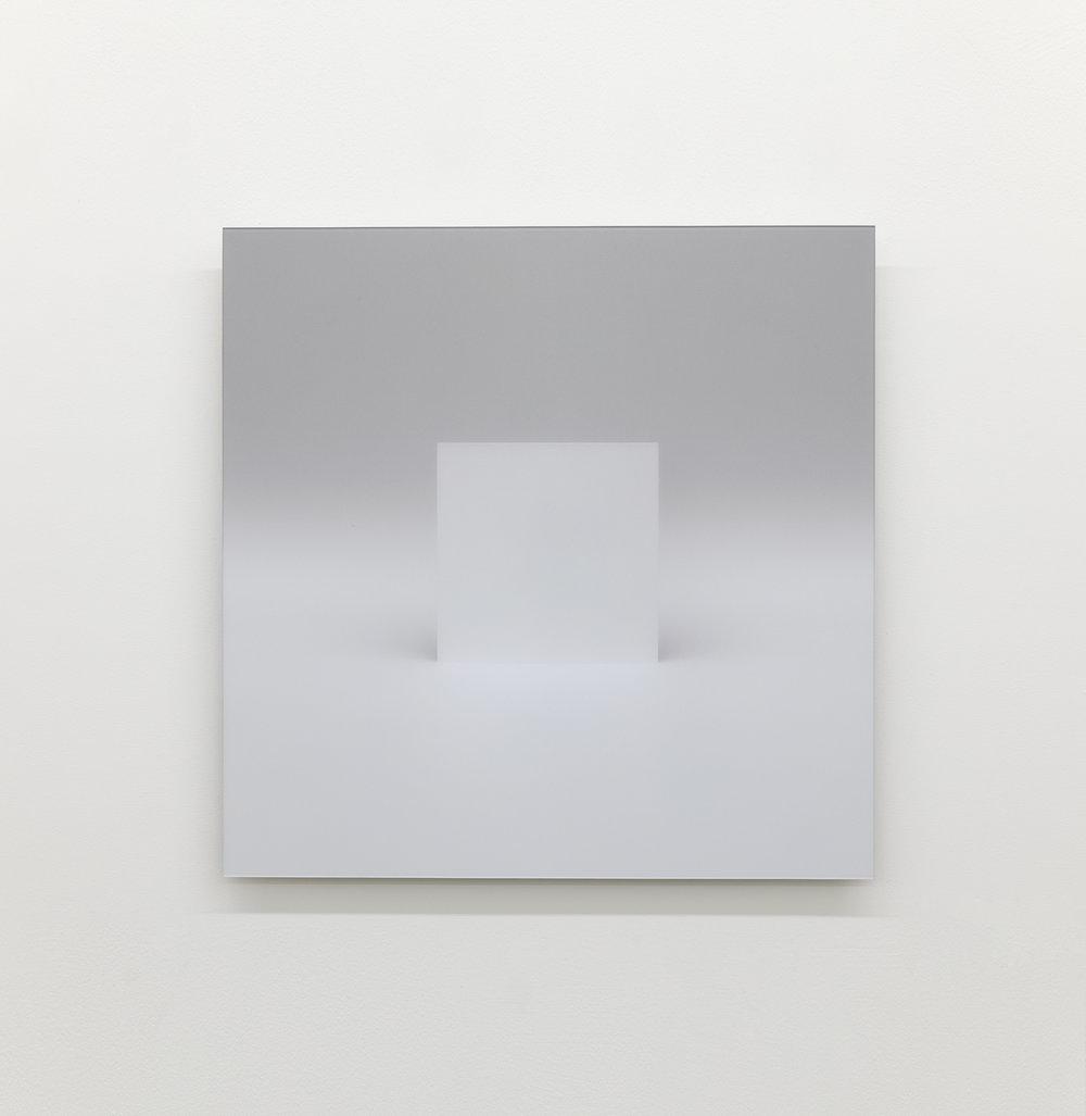 """Caroline Cloutier,  Variations sur le plein et le vide, l'envers et l'endroit  - Élément 1, 2017, digital print mounted under non reflexive acrylic,24"""" x 24"""" (61 x 61 cm)."""