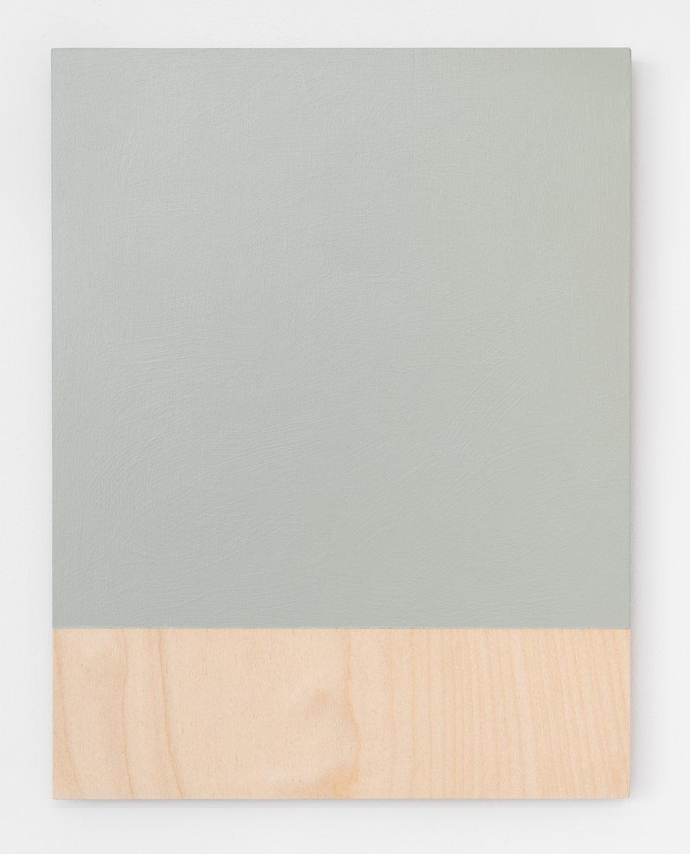 """Guy Pellerin,  484– la couleur des lieux, Lisbonne   (detail),  2018, acrylic on plywood, 11"""" x 8.5"""" (28 x 22 cm)"""