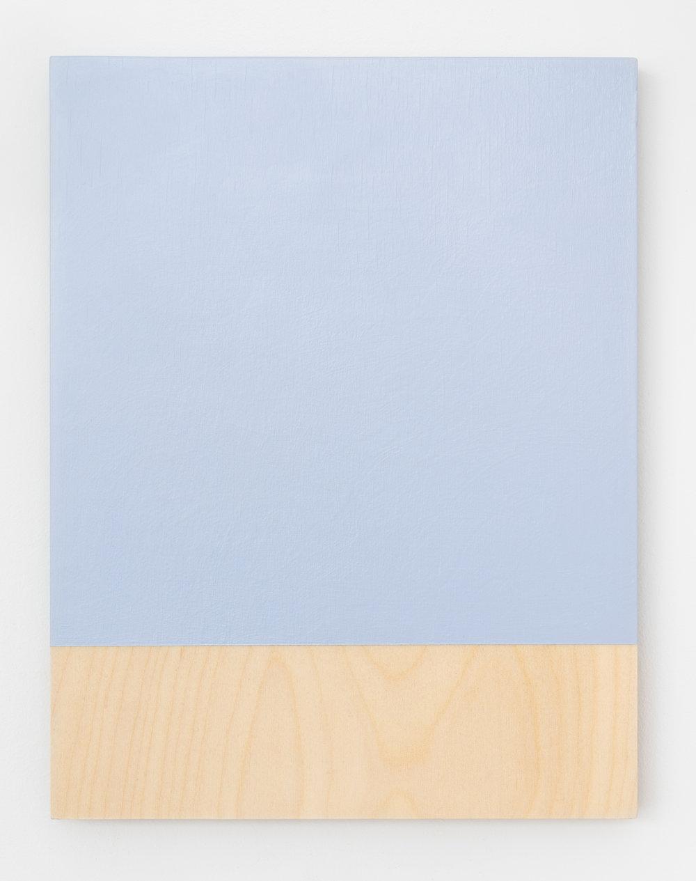 """Guy Pellerin,  484– la couleur des lieux, Lisbonne   (détail),  2018, acrylic on plywood, 11"""" x 8.5"""" (28 x 22 cm)"""