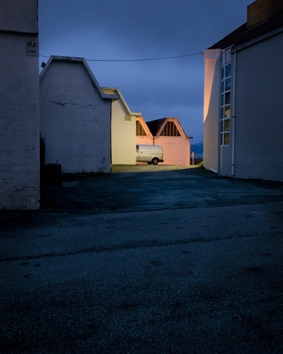 """Støperigaten 34 #1, Stavanger. "" From the series Ectopia. Archival pigment print. 2015."