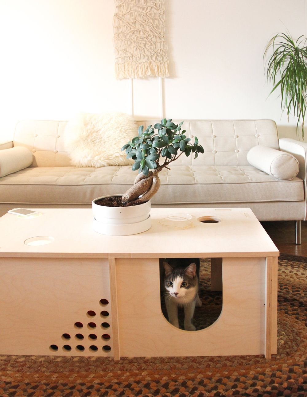 A place for your pet to call home. This model has 2 rooms. SHOP NOW