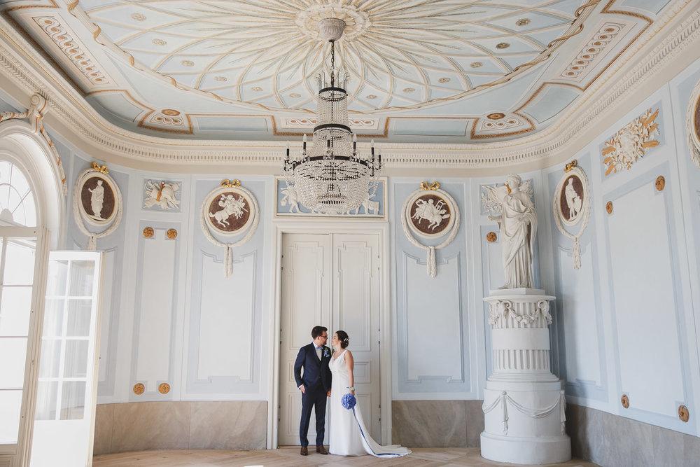 Brautpaar im Baalsaal