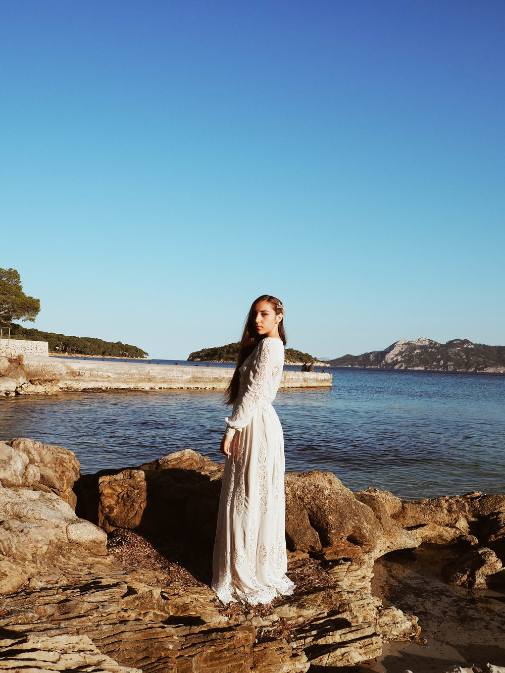 Mallorca Braut am Meer