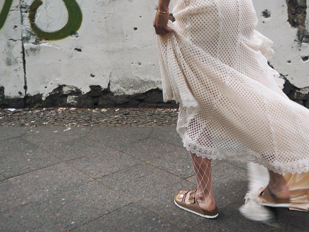 Birkenstock für die Braut