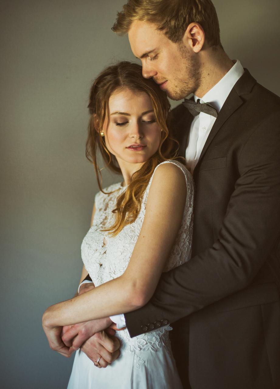 Brautpaar das perfekt zusammen passt
