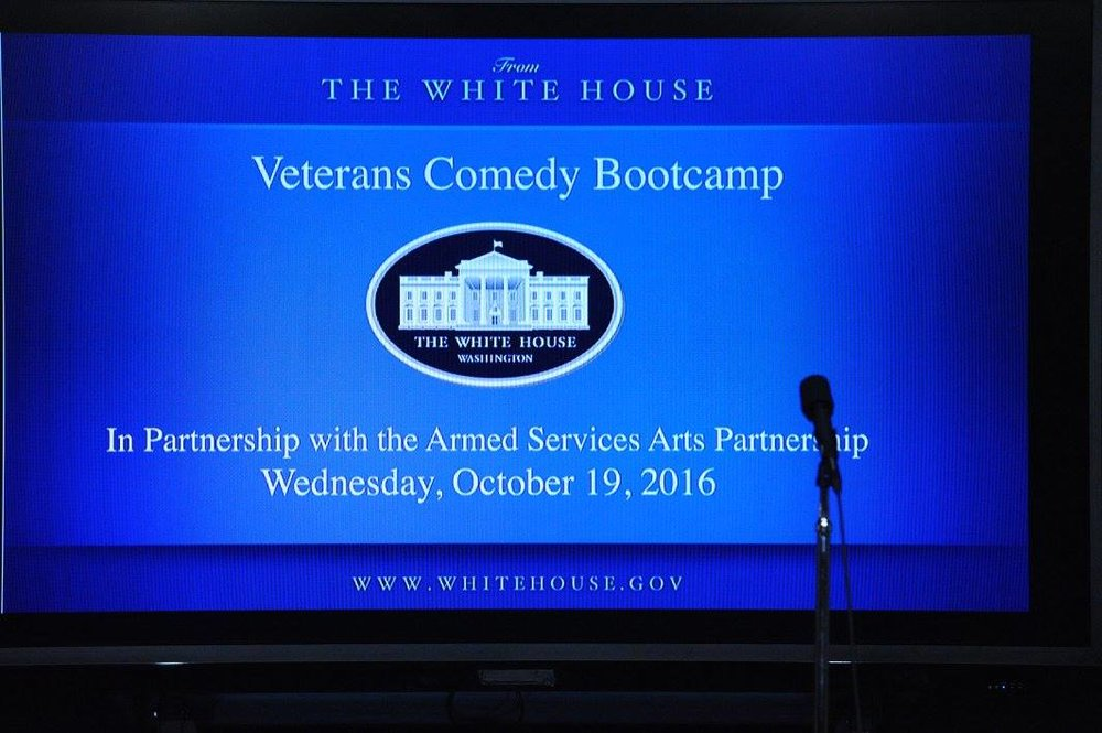 Veteran Comedy Show @The White House