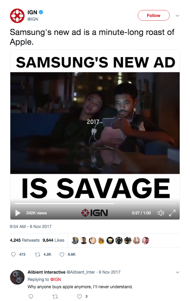 """""""Savage"""" came up a lot on social media."""
