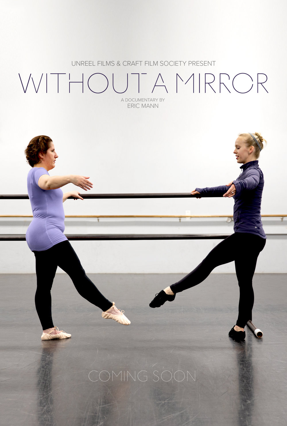 Without A Mirror Portrait Poster New