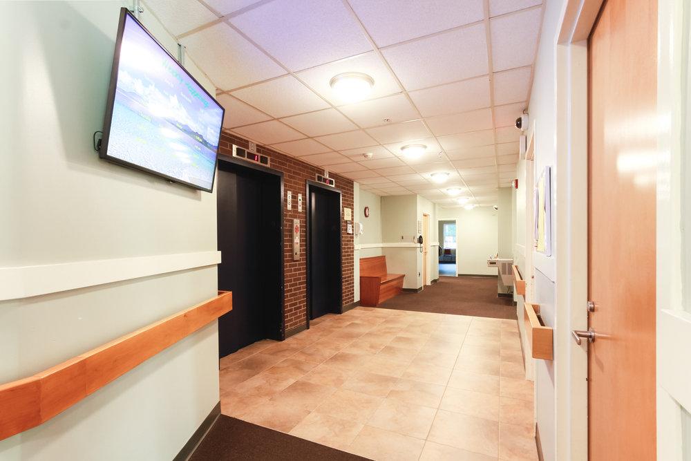Lobby - Elevator access