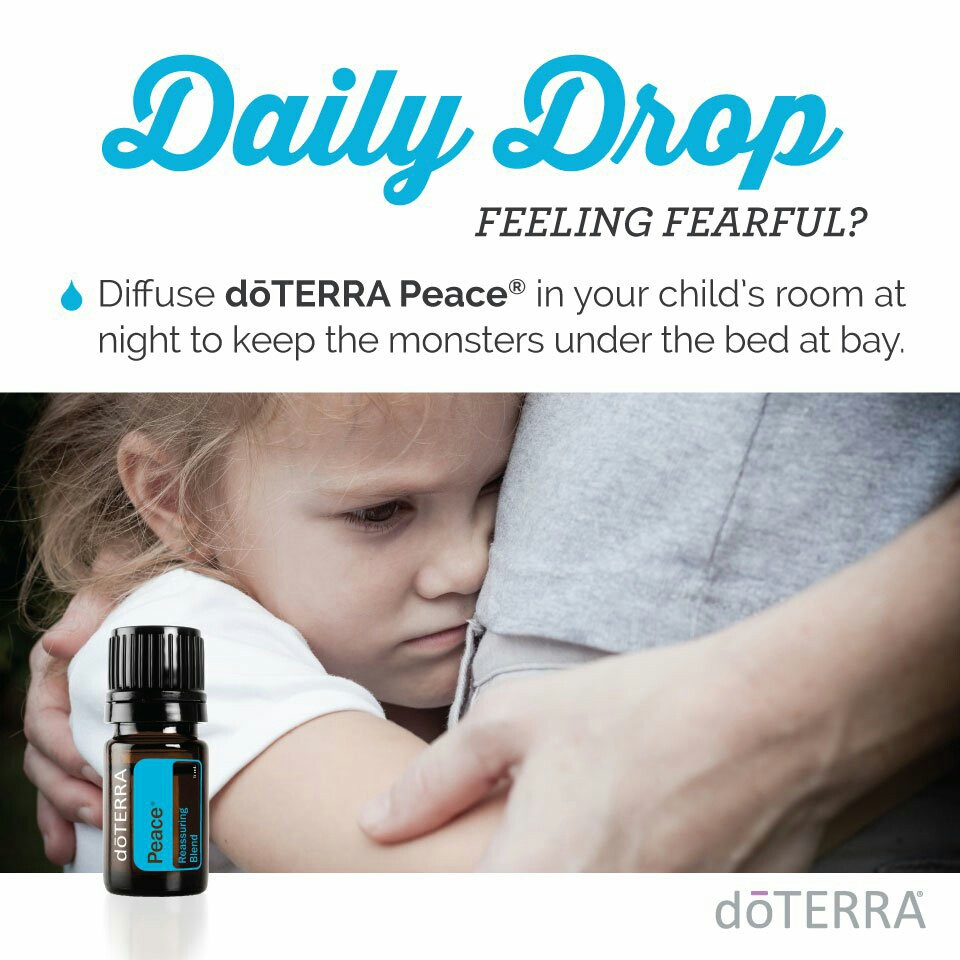 doTERRA Peace to keep monsters at bay
