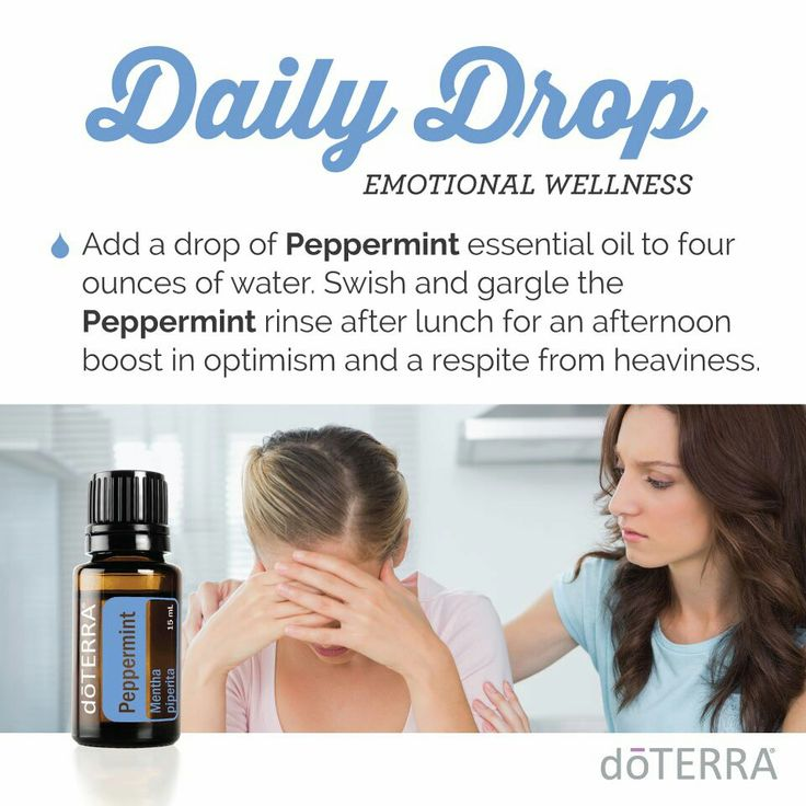 Use doTERRA essential oils to give you a boost in optimism and a respite from heaviness