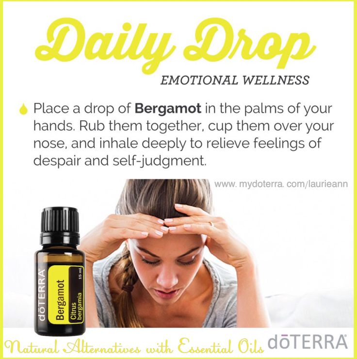 Use doTERRA essential oils to help relieve feelings of despair and self-judgement